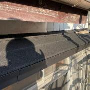 塩釜市O様邸-下屋根板金カバー工法コーキング補修