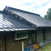大衡E様邸-屋根塗装