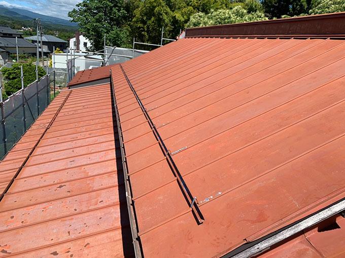 大衡E様邸-屋根塗装2